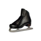 Riedell Black 21J Kids Figure Ice Skates
