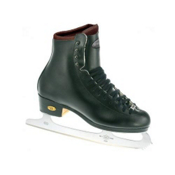 Riedell Black 25J TS Kids Figure Ice Skates