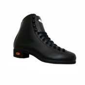 Riedell Black 21J Boys Figure Skate Boots