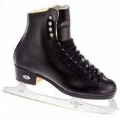 Riedell Black 133 TS Figure Skate Boots