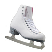 Riedell 114 Pearl Womens Figure Ice Skates