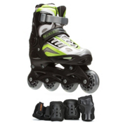 5th Element B2-100 Adjustable Boys Skates with Pads