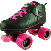 RC Mr Pink Girls Derby Roller Skates