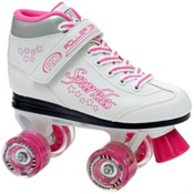 Roller Derby Sparkle Lighted Wheel Girls Outdoor Roller Skates