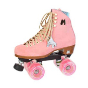 Riedell Moxi Lolly Strawberry Womens Outdoor Roller Skates